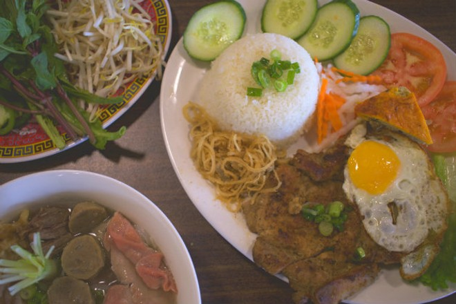 A selection of Vietnamese specialties from the Spot House. - CHERYL BAEHR
