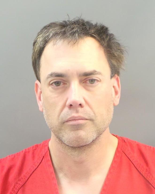 Robert Merkle in a 2017 mugshot after his arrest in St. Louis city.