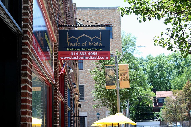 Taste of India is located next to Mission Taco on Eastgate Ave. in the Loop. - LEXIE MILLER