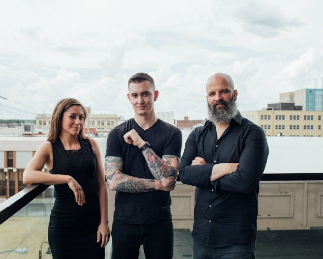 "Cassidy Rollins, Daniel Ernce and Michael ""Jersey"" Schmitz of the pop-up Progress are the subjects of a new documentary. - ANA ELLIOTT"