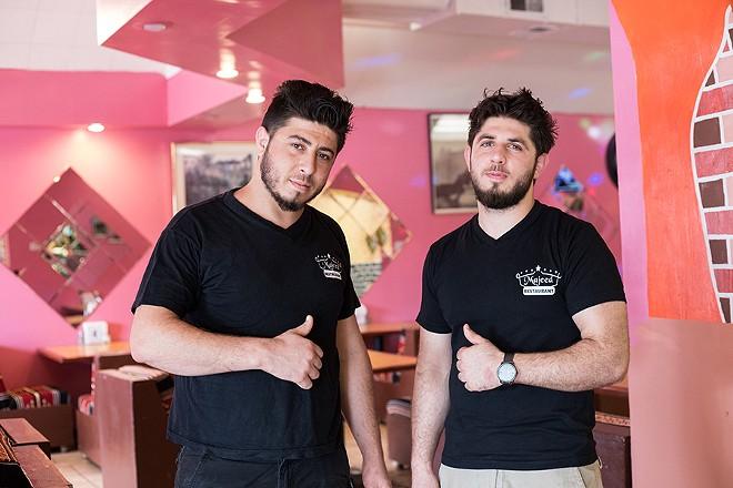 Brothers Abdulhak and Ibrahim Majeed. - MABEL SUEN