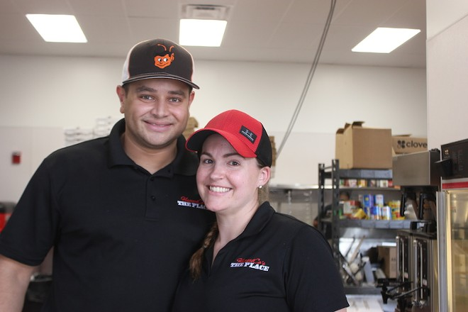 Co-owners Cory and Brittany Flament. - SARAH FENSKE