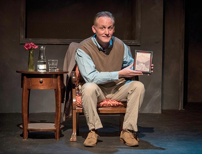 """Eric Dean White delivers a subtle, nefarious performance in Neil LaBute's """"The Fourth Reich."""" - PATRICK HUBER"""