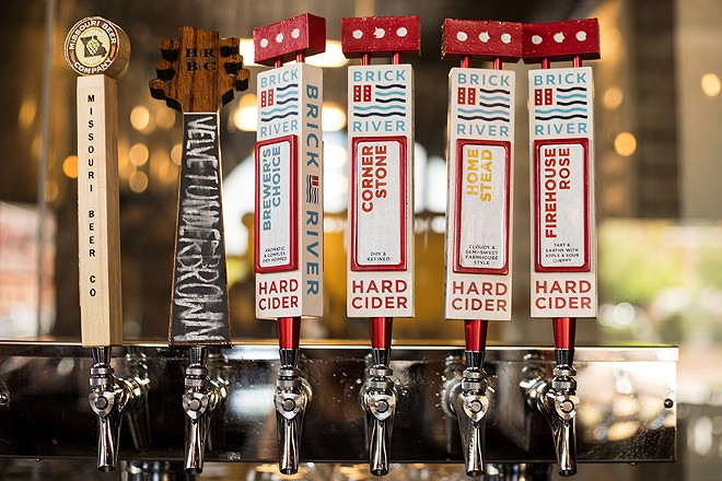 Cider is on tap, but also being distributed around the St. Louis area. - MABEL SUEN