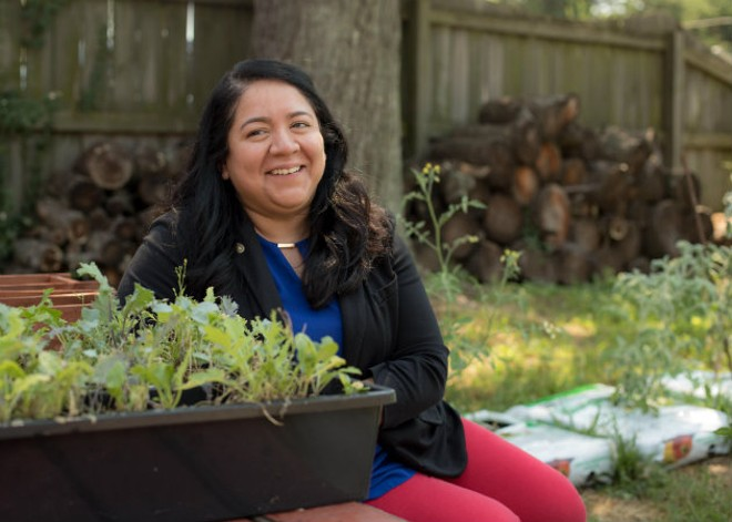 Carmen Estrada found her calling in the wine business. - MONICA MILEUR