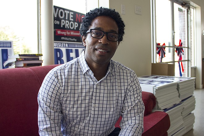Wesley Bell. - DANNY WICENTOWSKI