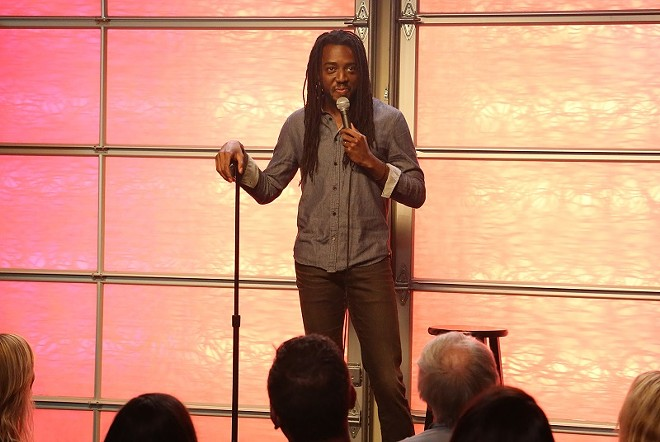 Julian Michael is one of the out-and-proud comics performing stand-up in Out on Stage. - COURTESY OF FATHOM EVENT