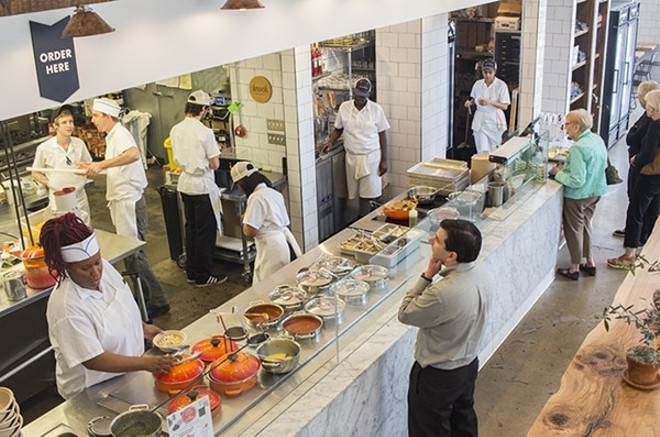 Porano Pasta, which hoped to elevate the fast-casual model, is now closing. - MABEL SUEN