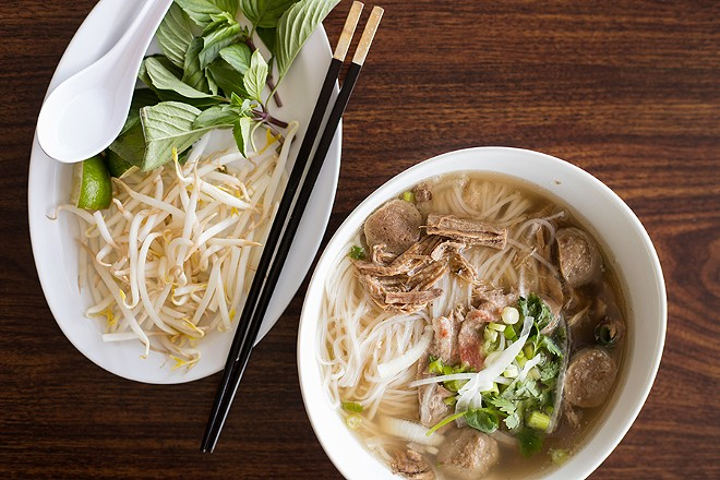 Truong added pho to the menu after getting requests from customers. Now she's serving one of the city's best versions. - MABEL SUEN