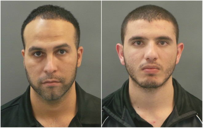 Jehad Motan, left, and Ahmed Qandeel were charged with assault. - COURTESY ST. LOUIS POLICE