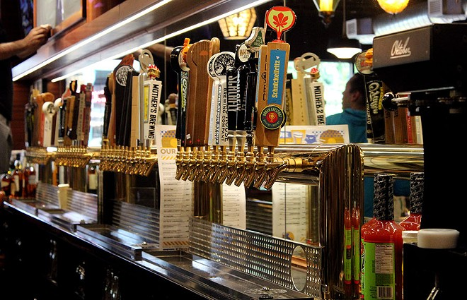 Hopcat currently has 80 Missouri-brewed beers on tap. - LEXIE MILLER