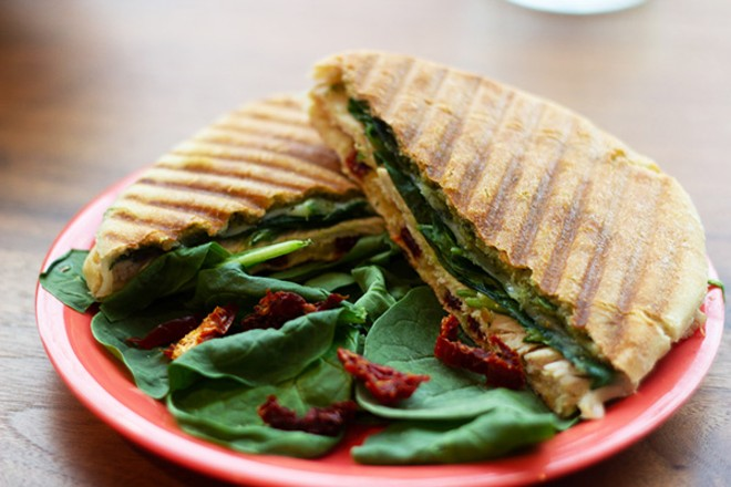 Roasted Turkey panini - HAYLEY ABSHEAR