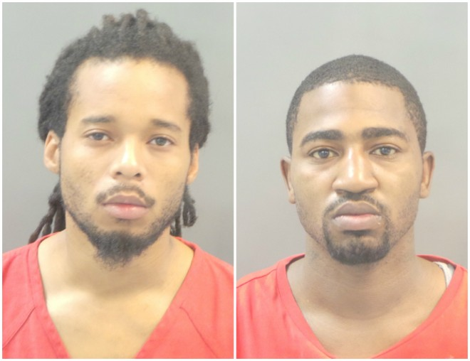 Antonio Steed, left, and Ralandus Lathon are charged with murder. - COURTESY ST. LOUIS POLICE