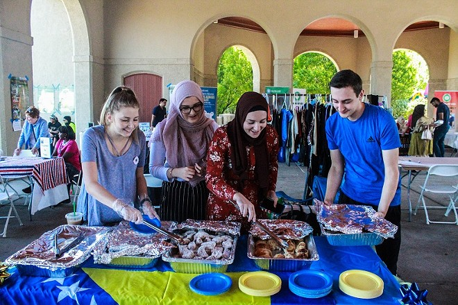 The Great Muslim Food Fest returns to feed all kinds of people delicious food. - COURTESY OF CAIR-MISSOURI