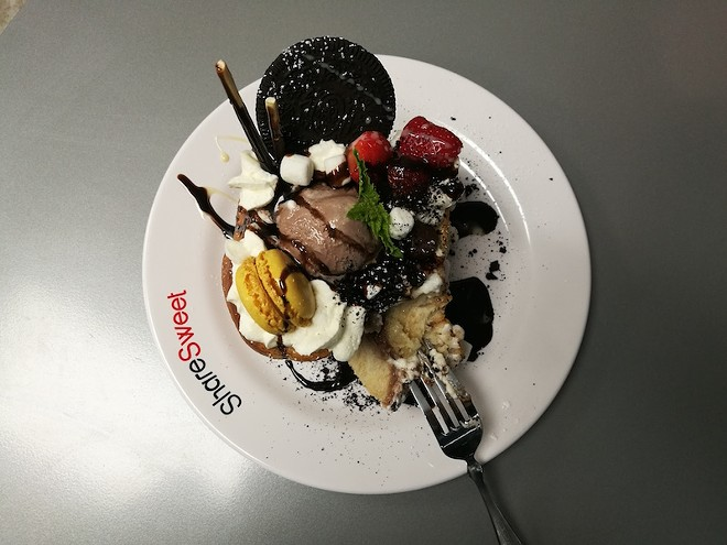 """Share Sweet's """"Chocolate Monster French Toast"""" - IAIN SHAW"""