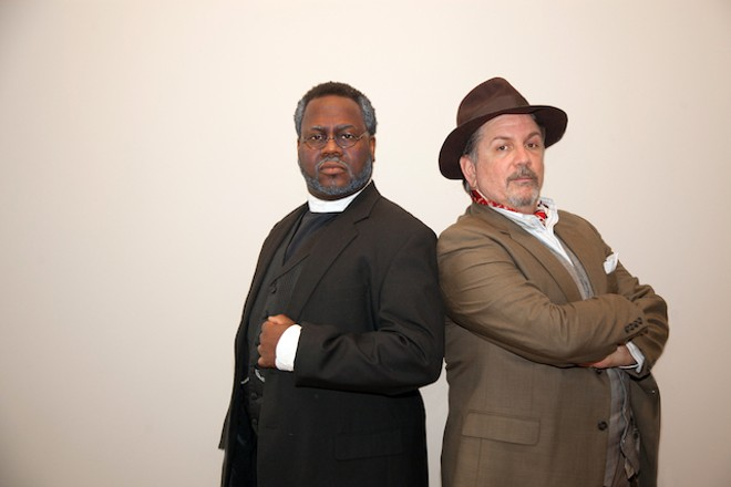 Kenneth Overton and Tim Schall star in Union Avenue Opera's Lost in the Stars. - JOHN LAMB