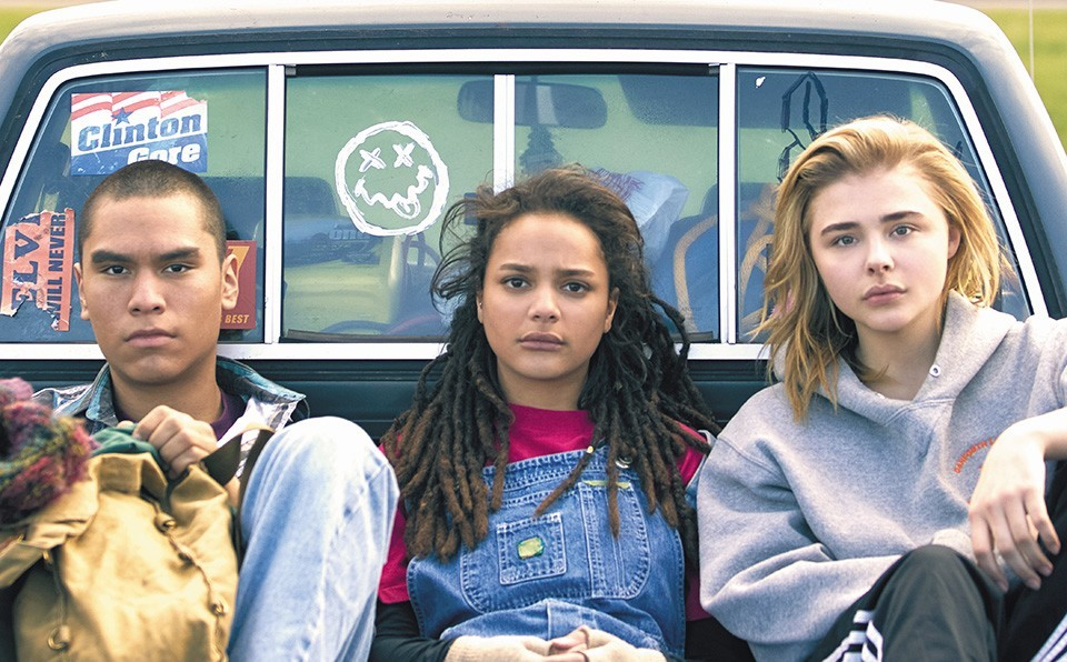 Adam, Jane and Cameron (Forrest Goodluck, Sasha Lane and Chloë Grace Moretz) try to survive gay conversion therapy in early-'90s America.