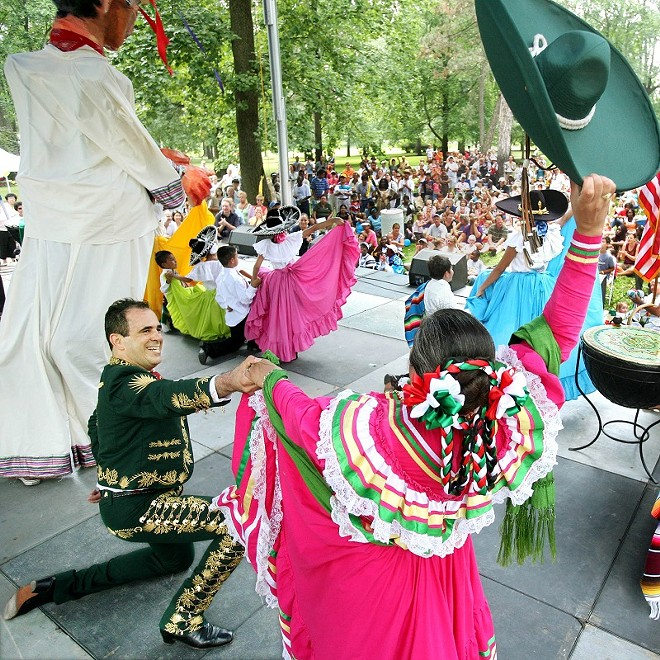 The Festival of Nations brings the world to Tower Grove Park. - COURTESY OF THE INTERNATIONAL INSTITUTE OF ST. LOUIS