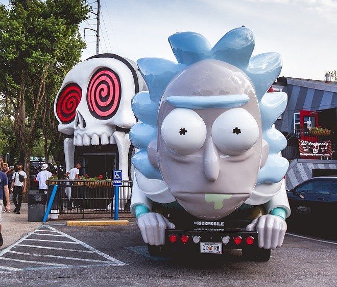 His name is Rick Sanchez, he's a truck and he's coming straight at you, St. Louis. - COURTESY OF ADULT SWIM
