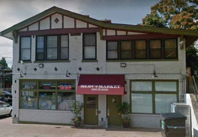 Shaw Market was robbed on Wednesday. - GOOGLE STREET VIEW