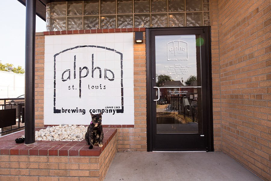 Previously located downtown and offering no food service, Alpha Brewing Company opened its much bigger new home in March. - MABEL SUEN