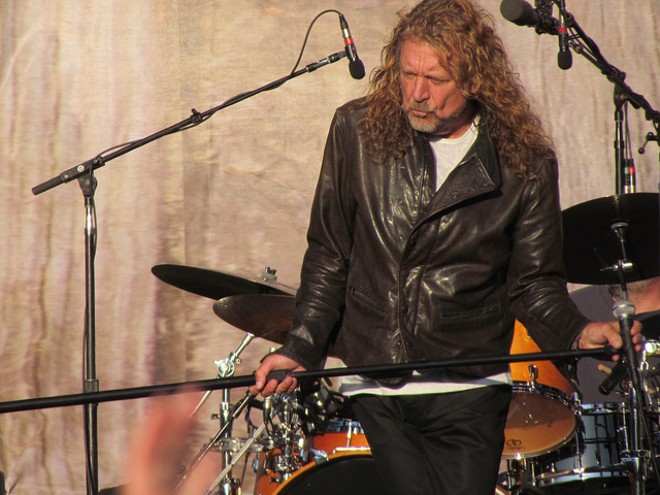 Rock legend Robert Plant is coming to the Pageant on Sunday — just one of a host of shows scheduled in the last 36 hours after LouFest's cancellation. - FLICKR/STEVEN MILLER