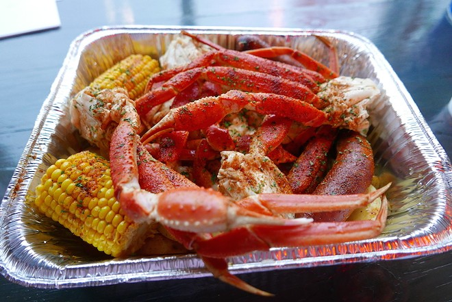 """The """"loaded platter"""" offers a bit of everything. - DESI ISAACSON"""