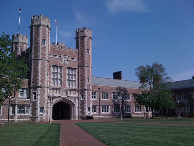 An ex-business manager embezzled $300,000 from Washington University, authorities say. - COURTESY OF FLICKR/GRABADONUT
