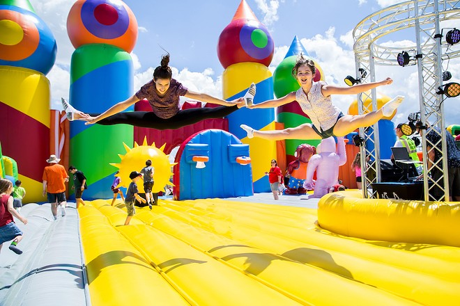 Get yer bounce on! - COURTESY OF BIG BOUNCE AMERICA