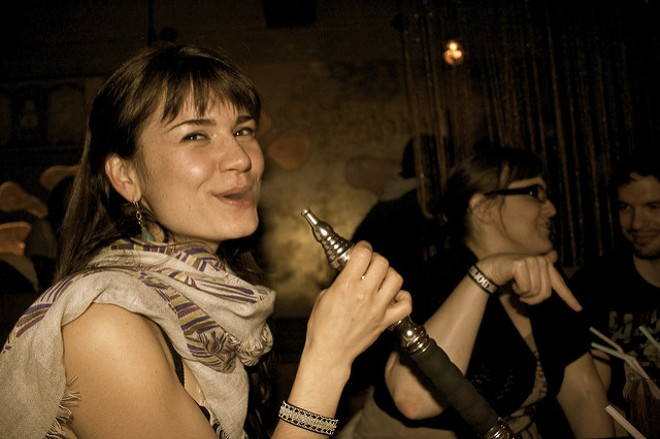 Hookah would be banned from public places in St. Louis County if voters say yes to a plan on the ballots in November. - FLICKR/CHELSEA MARIE HICKS