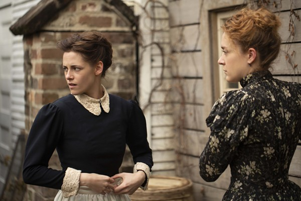 Kristen Stewart and Chloë Sevigny star in Lizzie. - ELIZA MORSE COURTESY OF SABAN FILMS AND ROADSIDE ATTRACTIONS