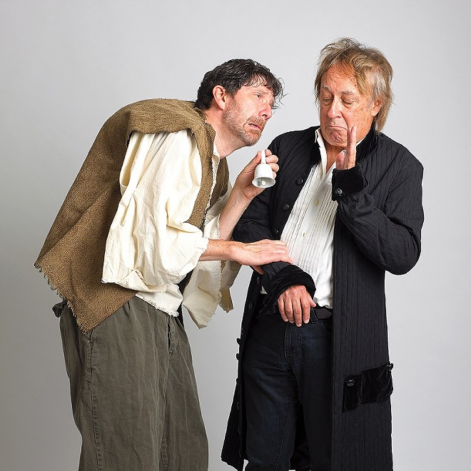 """Midnight Company co-founders David Wassilak and Joe Hanrahan reunite for more productions of """"Apology/Faustus"""" and """"The Hunchback Variations."""" - TODD DAVIS"""