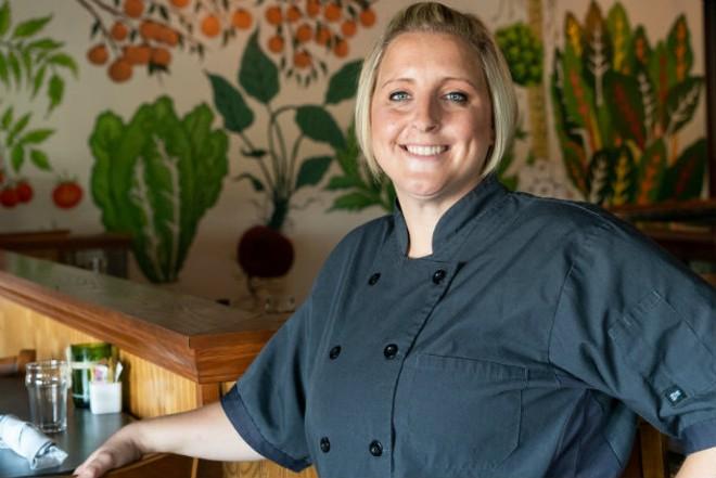 Kelsi Walden Baker gets back to her roots at Bakers & Hale. - LAWRENCE BRYANT