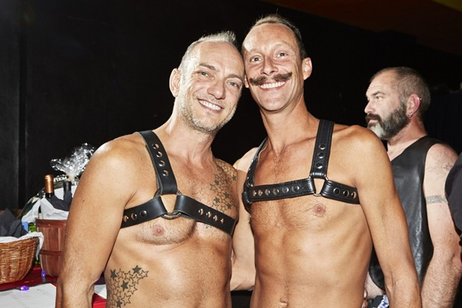 The Mr. Midwest Leather Competition celebrates the leather ilfestyle. - THEO WELLING