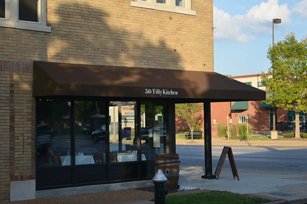 50/Fifty Kitchen is a live music venue, half-vegetarian restaurant sitting on the corner of Mardel Ave. and Kingshighway Blvd. - TOM HELLAUER