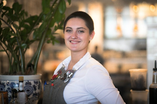 Olive + Oak's Morgaine Segura thanks her parents for her love of cocktails. - JEN WEST