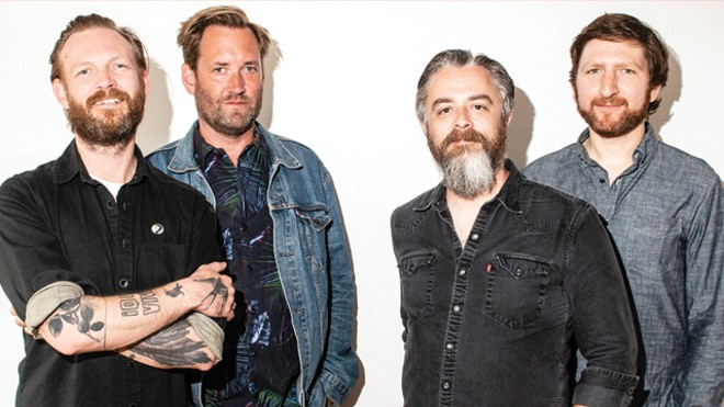Minus the Bear will perform at the Ready Room on Friday. - PRESS PHOTO