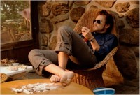 He's not here: Heath Ledger as Bob Dylan in I'm Not There
