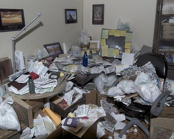 Not Carrie M. Becker's personal workspace. - CARRIE M. BECKER