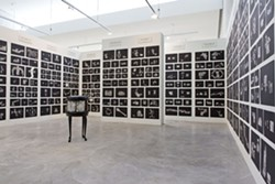 Mel Chin: Rematch, installation view, Contemporary Art Museum St. Louis. - DAVID JOHNSON