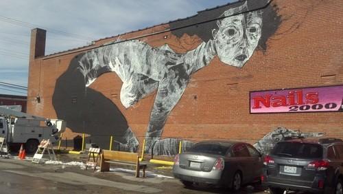 Faring Purth's Cherokee Street mural. - ALLISON BABKA