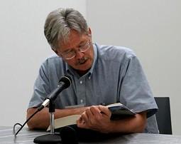 Walter Bargen, Missouri's first Poet Laureate - PHOTO BY NICHOLAS PHILLIPS