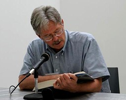 Walter Bargen, Missouri's first Poet Laureate - PHOTO BY NICHOLAS PHILLIPS