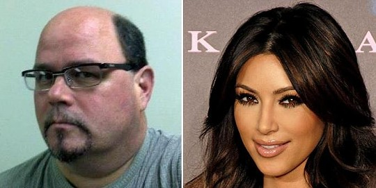 Kim Humphries (left) finds nothing amusing about Kim Humphries' (right) marriage and divorce.