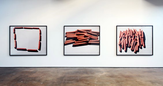 Installation view,  Lucas Blalock: Late Work. - COURTESY WHITE FLAG PROJECTS