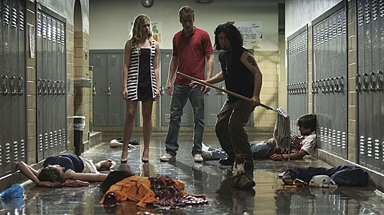 There's a quite mess for janitor Sonny Kane to clean up at Chatsworth Academy. - VIA WWW.BLOODFESTCLUB.COM
