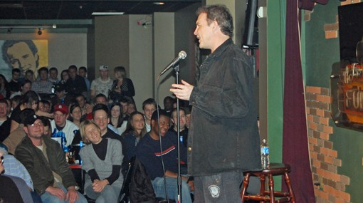 Macdonald at the Funny Bone comedy club in Westport this weekend.