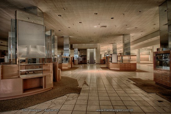 Photographer Dan Wampler was given access to the empty mall. - DAN WAMPLER