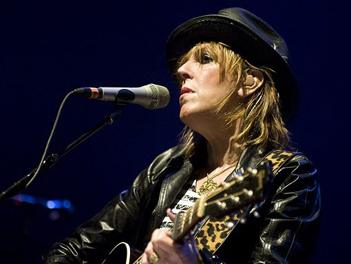 Lucinda Williams did her roots rock thing on Saturday night at the Pageant. See more photos from Saturday night's show. - PHOTO: JON GITCHOFF