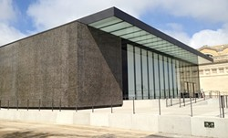 THE NEW WING OF THE SAINT LOUIS ART MUSEUM   RFT PHOTO